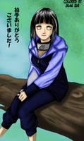 Hinata colored by Tanaka-Han