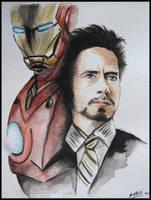 Iron Man by SallyGipsyPunk