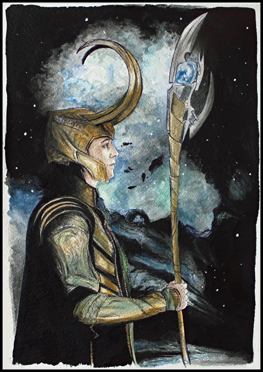 Loki by SallyGipsyPunk