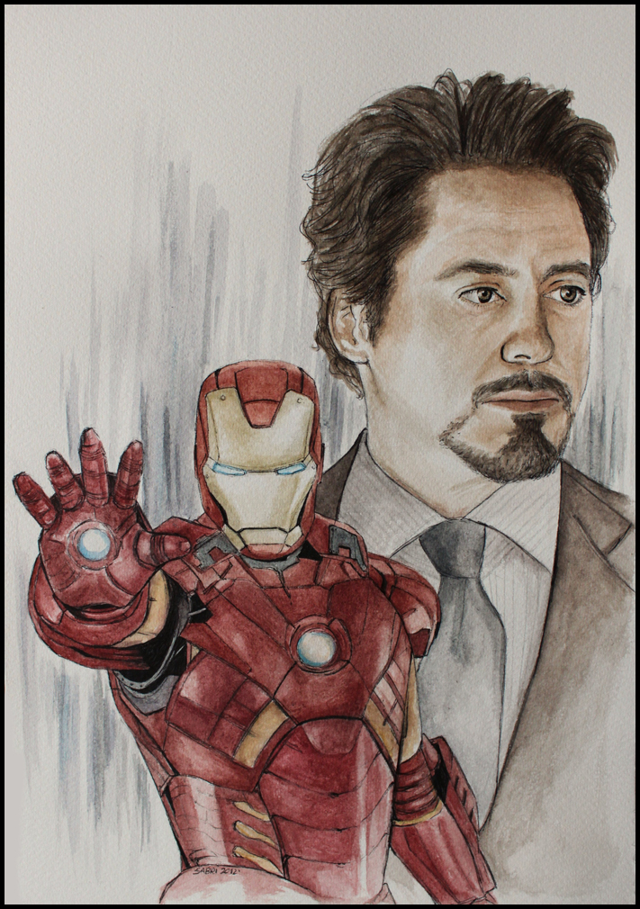 I'm Iron Man by SallyGipsyPunk