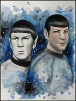 Spock by SallyGipsyPunk