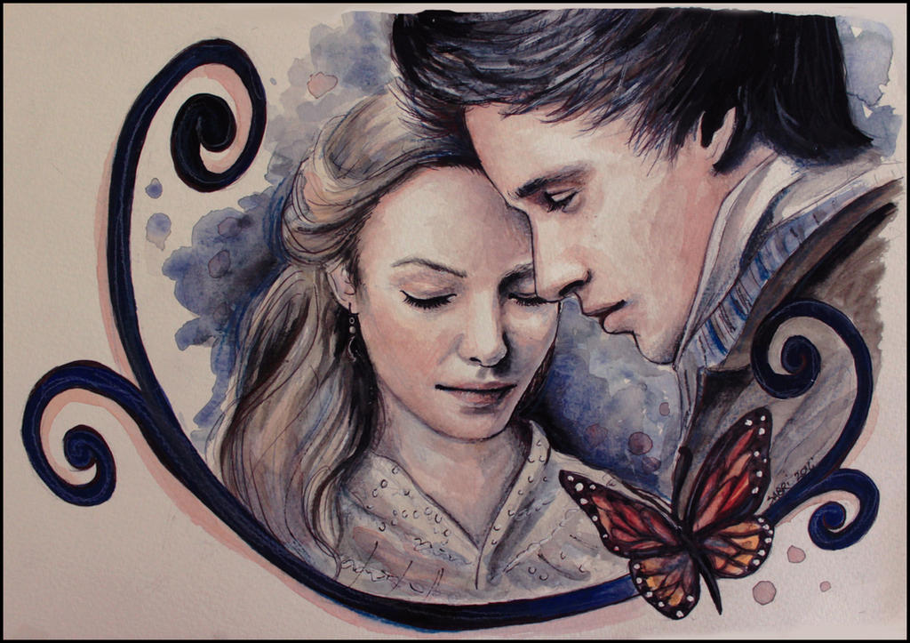 Marius and Cosette by SallyGipsyPunk