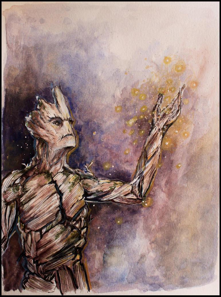 I am Groot by SallyGipsyPunk