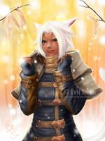 Rika Calloway - Final Fantasy XIV by Evil-Siren