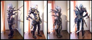 FFXIV Dragoon Cosplay Armor Update by Evil-Siren