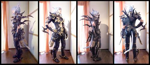 FFXIV Dragoon Cosplay Armor Update