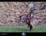 FFXIV Dragoon Cosplay - Esumi Aoi by Evil-Siren