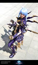 FFXIV Dragoon Cosplay Esumi Aoi 1 by Evil-Siren