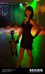 Commander Shepard Cosplay - Afterlife Club
