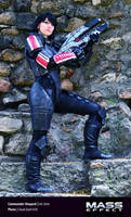 Commander Shepard (femshep) Mass Effect Cosplay 01