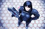 Commander Shepard Cosplay photo by greencat