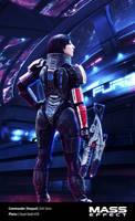 Commander Shepard (femshep) Mass Effect Cosplay 05 by Evil-Siren