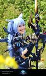 Esumi Aoi FFXIV Dragoon Cosplay AF2