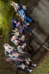 Monster Hunter 3U Group Cosplay by Evil-Siren
