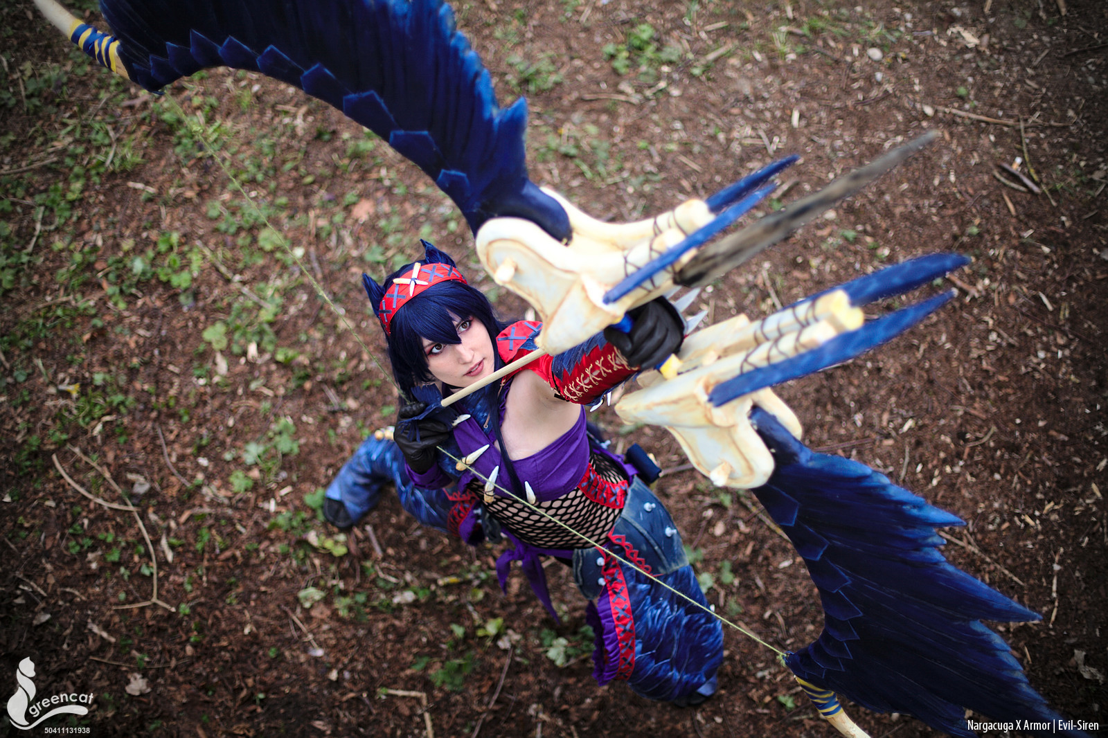 Monster Hunter Nargacuga X Cosplay 3 - Evil-Siren by Evil-Siren on ...
