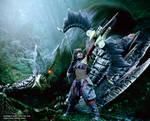 Monster Hunter Nargacuga X Cosplay by Evil-Siren