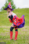 Vanessa Fire Witch Luminous Arc Cosplay
