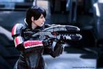 Commander Shepard Cosplay Evil-Siren