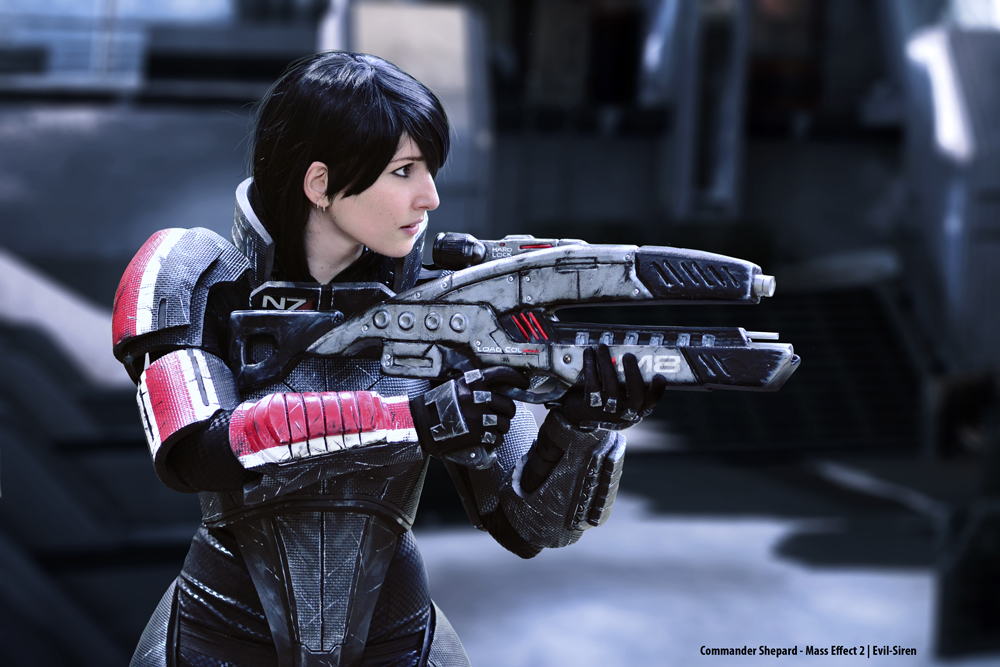 Commander Shepard Cosplay by Evil-Siren