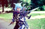 FFXIV Dragoon Cosplay - Evil-Siren