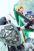 Cosplay: Link VS Dark Link - Water Temple