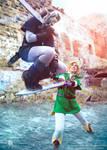 Mastersword Jump - Link vs Dark Link Cosplay