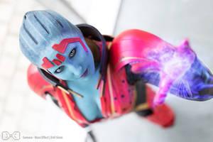 Samara Cosplay 02 Mass Effect - Evil-Siren by Evil-Siren