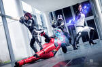Mass Effect Group Cosplay Evil-Siren