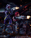 Shepard and Tali - Mass Effect Cosplay