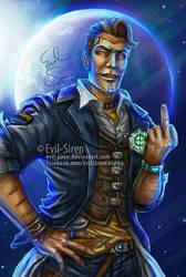 Handsome Jack - Borderlands - Evil-Siren by Evil-Siren