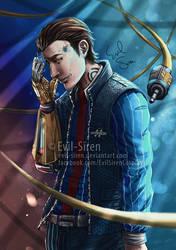 Rhys Jack - Borderlands Evil Siren by Evil-Siren