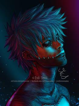 Dabi BNHA Portrait Evil Siren