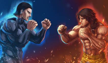 Agito VS Gaolang - Evil Siren
