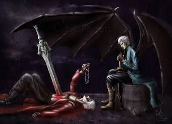Does it hurt Dante by Evil-Siren