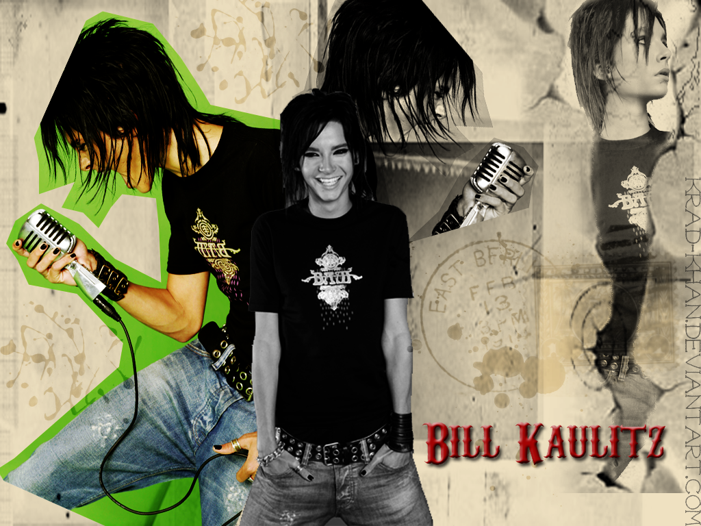 bill kaulitz wallpaper nr5. by ~kellieeh on deviantART