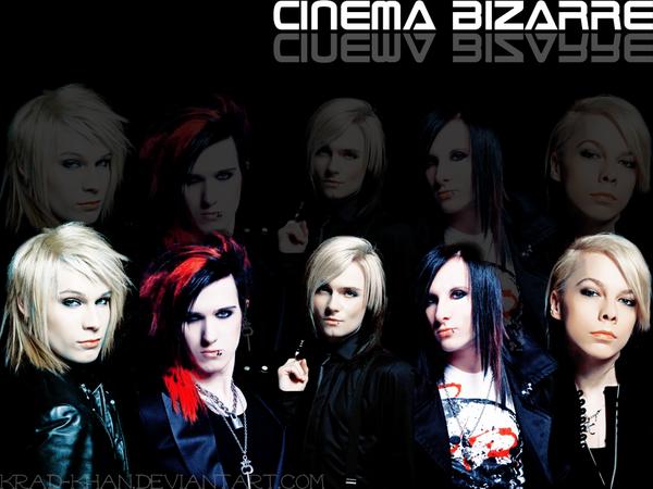 Cinema Bizarre Font 52