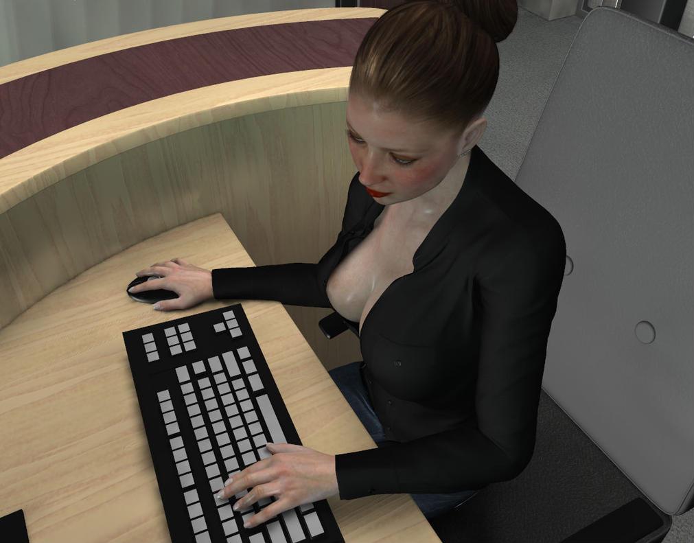 Office Voyeur 75