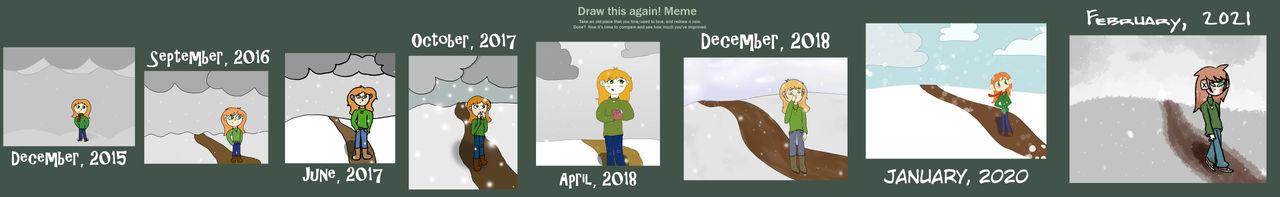 Draw This Again Meme February 2021