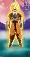 Goku Ultra Instinct Super Saiyan by Blade3006