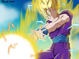 Teen Gohan Super Saiyan 2 by Blade3006