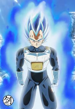 Vegeta Super Saiyan Bleu Evolution