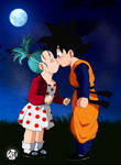 Bulla and Goten Commission by Blade3006