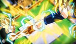 Rematch Trunks vs Goten by Blade3006