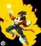 Super Saiyan 4 Vegeta DBS by Blade3006