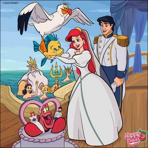 Ariel(Human) and Prince Eric's Wedding