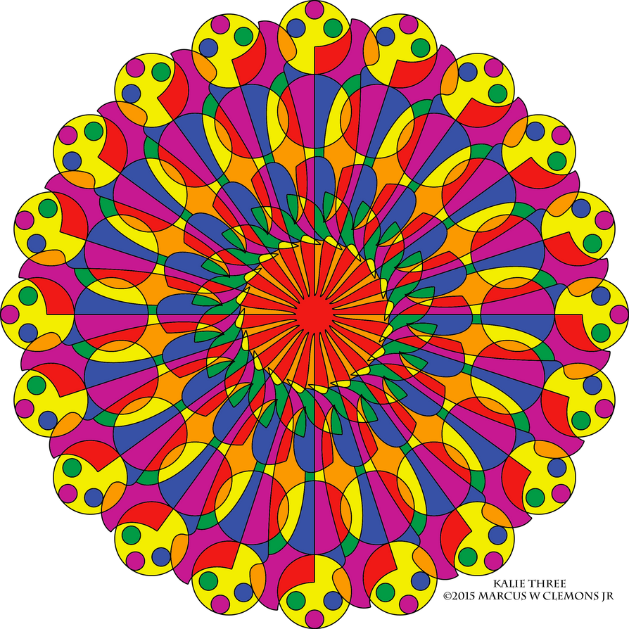 Image Result For Kaleidoscope Designs Coloring