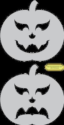 Pumpkins Vlad and Blah-Blah-Blah