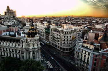 Madrid by barrabash