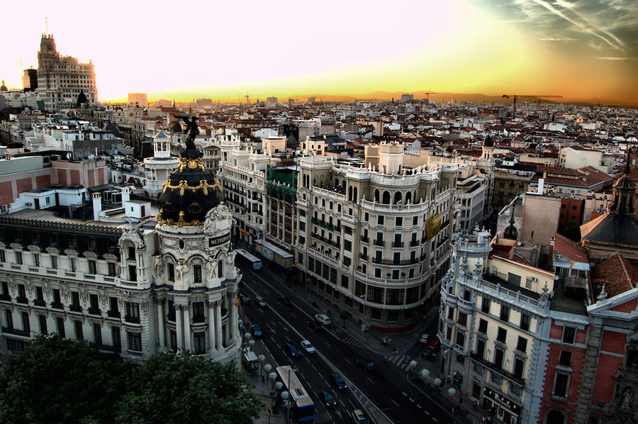 Madrid by barrabash