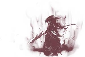 Black knight by yagamisiro